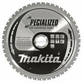 Диск пильный для дисковой пилы 190х20 60T Standart прессплита.фанера.ламинир.древесины, Makita