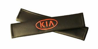 """Накладки на ремень безопасности Auto Premium """"KIA"""", 2 шт"""