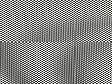 """Решетка радиатора декоративная """"DolleX"""", 100 х 20 см, ячейки 6 х 3,5 мм, цвет: черный"""