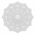 Розетка потолочная Европласт Mauritania 1.56.502