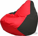 Кресло-мешок Flagman Груша Мега Г3.1-232 красный/черный