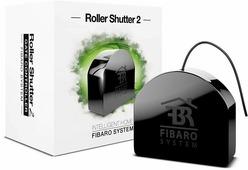 Модуль управления FIBARO жалюзи / воротами SMART HOME ROLLER SHUTTER 2, черный