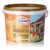Прозрачный декоративно-защитный акриловый лак для облицовочного кирпича, природного и искусственного камня Olimp