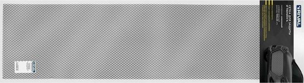 Сетка для защиты радиатора Rival, универсальная, 100 х 25 см, R10, цвет: черный