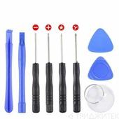 Набор инструментов для ремонта мобильных телефонов (9 в1) iPhone, iPad, Samsung