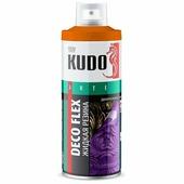 """Жидкая резина KUDO """"DECO FLEX"""", коричневый, аэрозоль, 520 мл"""