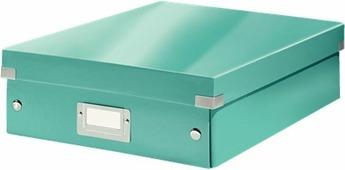 Leitz Короб-органайзер Click-n-Store размер М цвет бирюзовый