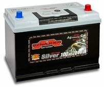 Автомобильный аккумулятор Sznajder Silver Japan (100 A/h), 750A R+