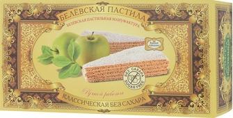 Белевская пастильная мануфактура Белевская пастила классическая без сахара, 100 г