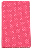 """Ткань Кустарь """"Мелкий горошек"""", цвет: брусничный, 48 х 50 см. AM555024"""