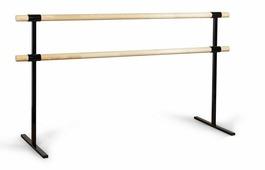 «Eco» - хореографический станок двухуровневый - мобильный, переносной. Поручни: сосна.