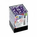 Набор фиолетовых игровых кубиков «36D6»