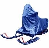 "Чехол ""AG-brand"" для снегохода Irbis Dingo 150, цвет: синий"