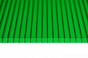 Поликарбонат сотовый Polynex Зеленый 8 мм
