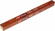 Пыльцовые благовония Hem Masala Incense Sticks MUSK (Благовония мускус, Хем), уп. 8 палочек
