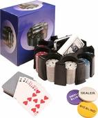 Сувенирный набор Magic Home, для игры в покер, 79866, 19,5 х 19,5 х 10 см
