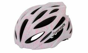 Шлем Green Cycle Alleycat серо-розовый (2864)