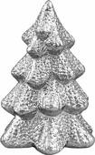"""Фигурка новогодняя Magic Time """"Заснеженная елочка"""", цвет: серебряный, 8 х 8 х 11,5 см"""