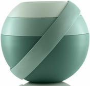 """Ланч-бокс для салатов Guzzini """"Zero"""", цвет: зеленый, 388 мл + 780 мл, 5 предметов"""