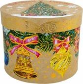 """Коробка подарочная Magic Time """"Елка с колокольчиками"""", 18 х 18 х 14 см. 78457"""