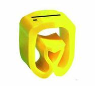 """Маркер закрытого профиля Partex PA-02 на провод 0.2-1.5 мм², символ """"I"""", желтый/черный (катушка 1000 шт.) {PA-..."""