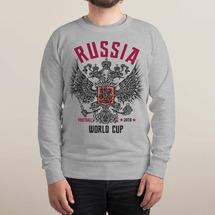 Свитшот Dream Shirts Russia World Cup II