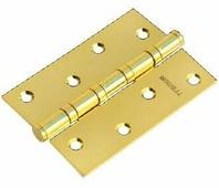 Петля дверная универсальная стальная Morelli MS 100X70X2.5-4BB PG золото