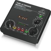 Behringer MIC500USB ламповый микрофонно-линейный предусилитель, инстр. вход, функция моделирования, USB-аудио интерфейс 2x2, выход на наушники