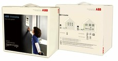 Домофоны/Видеодомофоны Комплект домофона со станцией вызова, мини, ау 4,3 с трубкой ABB
