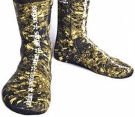 Неопреновые носки для подводной охоты Sargan Аргази Кaмо Rd2.0 5 мм
