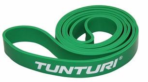 Силовая лента Tunturi, 29 мм, зеленая