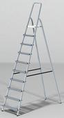 Startul Лестница-стремянка алюм. 213см 10ступ. Pro (ST9940-10)
