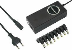 Источник питания для ноутбуков с автоматической регулировкой напряжения Rexant 80 Вт {200-508-1}