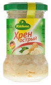 Kuhne Vegetable Horseradish хрен острый, 140 г