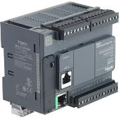 Мультимедийные контроллеры Schneider Electric Компактный базовый блок m221-24io реле ethernet Schneider Electric, TM221CE24R