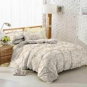 Комплект постельного белья Amore Mio Поплин Combo, 10628, бежевый, евро, наволочки 70x70