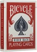"""Карты игральные Bicycle """"Rider Back"""", цвет: красный"""