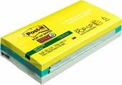 Клейкая бумага для заметок Post-it SuperSticky, 141010, 7,6 x 7,6 см, 6 блоков по 90 листов