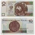 Банкнота Польша 10 злотых 2016 (Pick 183b) V210520