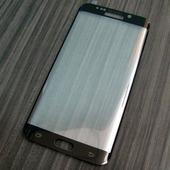 для Samsung S6 Edge Plus (S6 Edge +) Защитное стекло Ainy Full Screen Cover 3D 0,2 мм чёрное