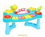 Развивающая игрушка - Пианино с микрофоном, Жирафики 939659