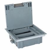 Коробка напольная с горизонтальным размещением ЭУИ 12 модулей. Цвет Серый. Legrand (Легранд). 088172