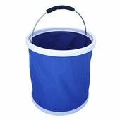 Ведро резиновое складное Burgon & Ball (синее)