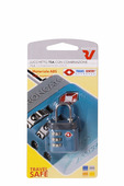 Roncato Замок навесной для чемодана, синий 40909100
