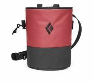 Мешочек для магнезии Black Diamond Mojo Zip Chalk Bag красный M/L