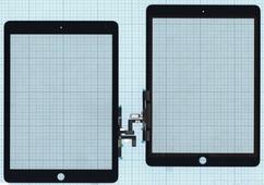 Тачскрин (сенсорное стекло) для планшета Apple IPad Air, 9.7, черный