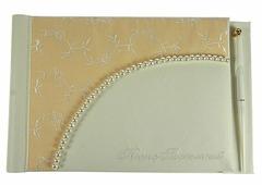 "Книга пожеланий на свадьбу ""Bianco Sole"", с ручкой, 29 х 20 см. 139364"