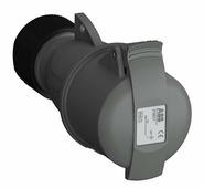 Розетка кабельная easy&safe 216ec1,16а,2p+e,ip44,1ч ABB, 2CMA101999R1000