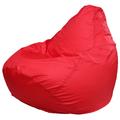 Кресло-мешок FLAGMAN Груша Макси красный (Г2.1-06)
