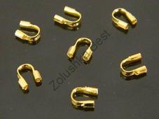 Протектор для ювелирного тросика, золото, 140 шт